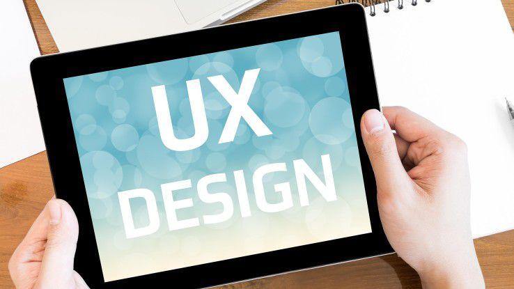 UX-Designer fragen sich, was der Nutzer mit dem Produkt erreichen möchte und wie er auf die angenehmste Weise dorthin gelangt.