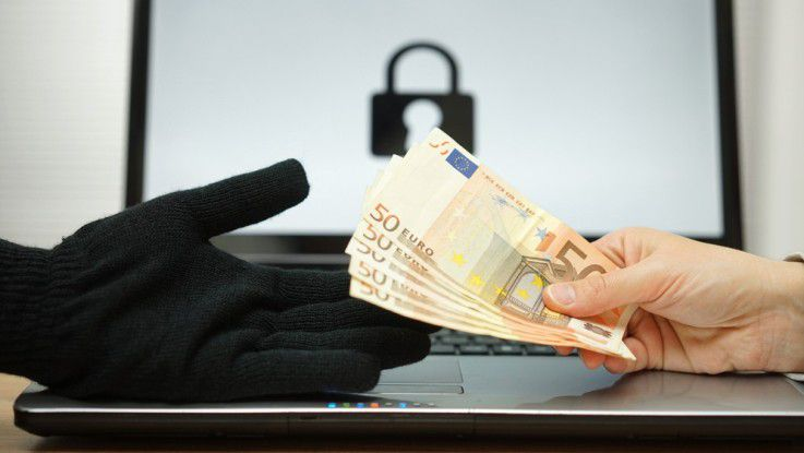 Ransomware: Die virtuelle Lösegeld-Epressung steht bei Kriminellen derzeit hoch im Kurs.
