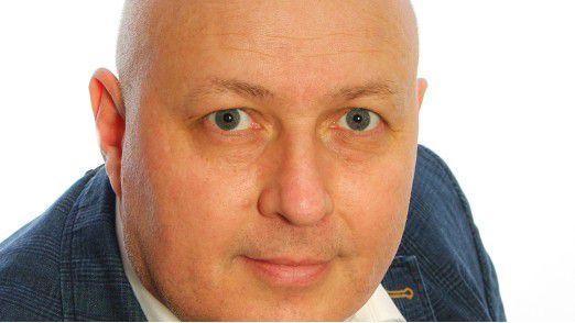 Lars Bösel, Director IT Services bei NCR, gab uns einen Einblick in die Logistik hinter den Geldautomaten.