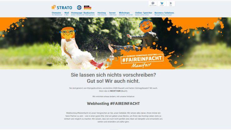 Strato-CEO Christian Böing geht neue Wege: Er verzichtet auf Kleingedrucktes und ellenlange Fußnoten in den Leistungsbeschreibungen seiner Hosting-Produkte.