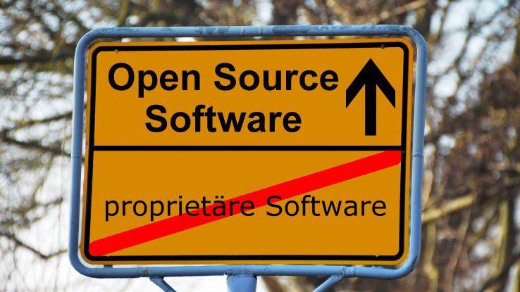 Open-Source-Software wird in vielen Unternehmen als kostengünstige Alternative zu proprietärerer Software gesehen.