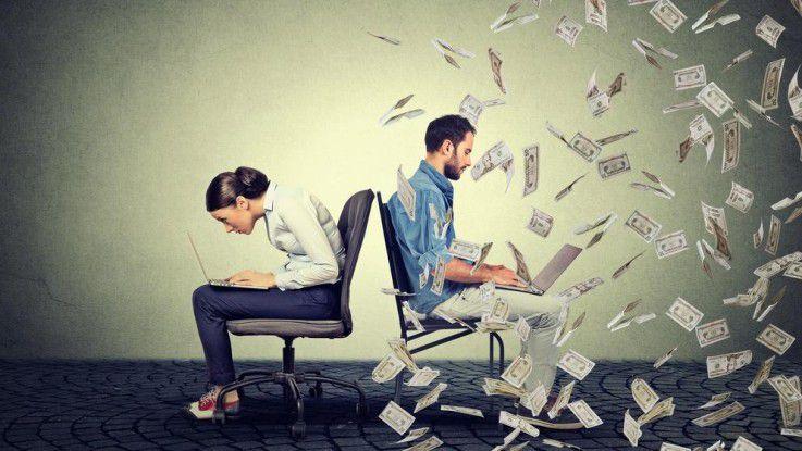 Laut der Informatikerin Claudia Kimich sollten Frauen bei ihren Gehaltswünschen immer mindestens 30 Prozent draufschlagen.