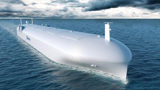 Geht es nach Rolls-Royce, sind smarte, autonome Frachtschiffe die Zukunft der Schifffahrt.