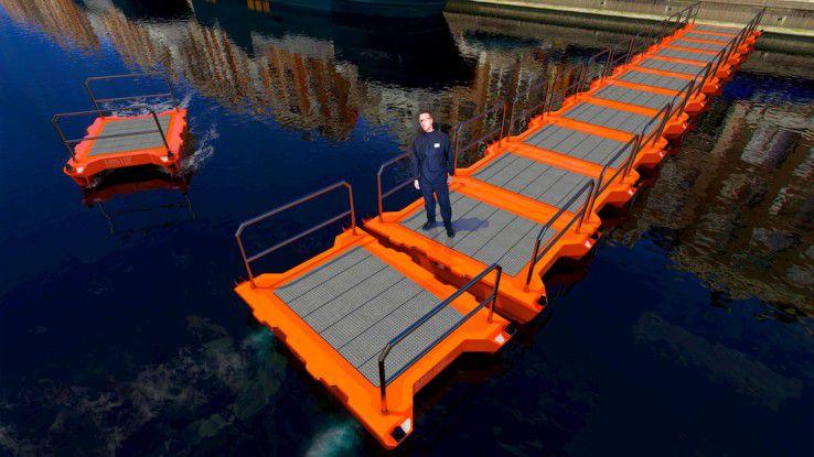 Das Roboat-Projekt beinhaltet auch dynamische Wasser-Infrastruktur.