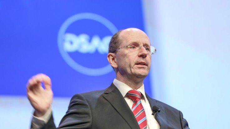 Marco Lenck, Vorstandsvorsitzender der Deutschsprachigen SAP-Anwendergruppe (DSAG) moniert die unflexiblen Lizenzierungsmodelle für SAPs Cloud-Lösungen.