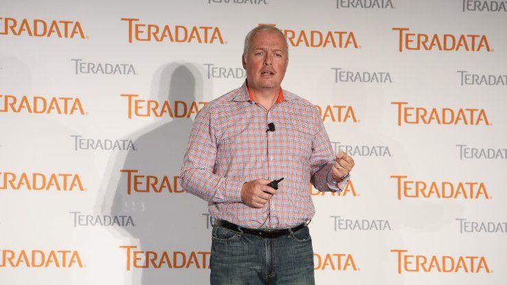 Oliver Ratzesberger, Chief Product Officer bei Teradata, legte die Produktvisionen des Konzerns dar.
