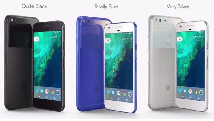 Google: Die Pixel-Smartphone-Reihe bleibt hochpreisig.