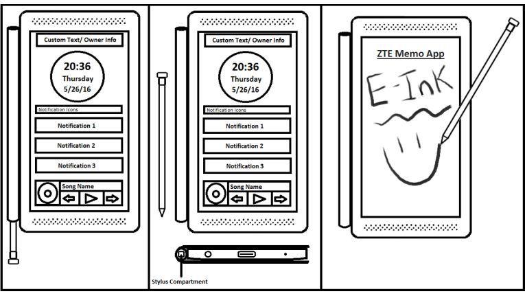 Pins an der Rückseite ermöglichen verschiedene intelligente Smartphonen-Hüllen