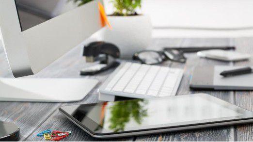 Der Digital Workplace wir nach Meinung europäischer Entscheider mobil.