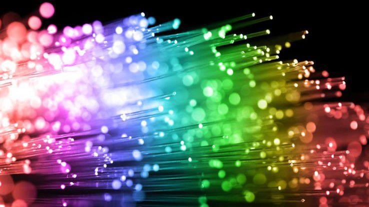 Glasfaser gilt immer noch als ideales Medium zur Breitbandanbindung.