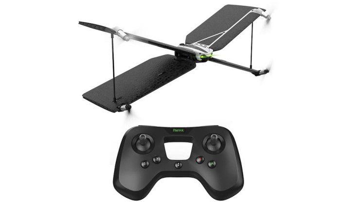 Die Parrot Swing ist eine Einsteiger-Drohne mit coolem Design.