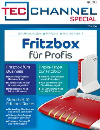 """Über 90 Seiten Fritzbox-Grundlagen, -Praxis und -Ratgeber finden Sie im TecChannel Special """"Fritzbox für Profis""""."""