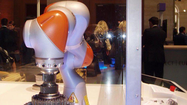 Partner aus der Industrie, wie etwa Roboterbauer Kuka, sollen bei der Entwicklung vertikaler Lösungen helfen.