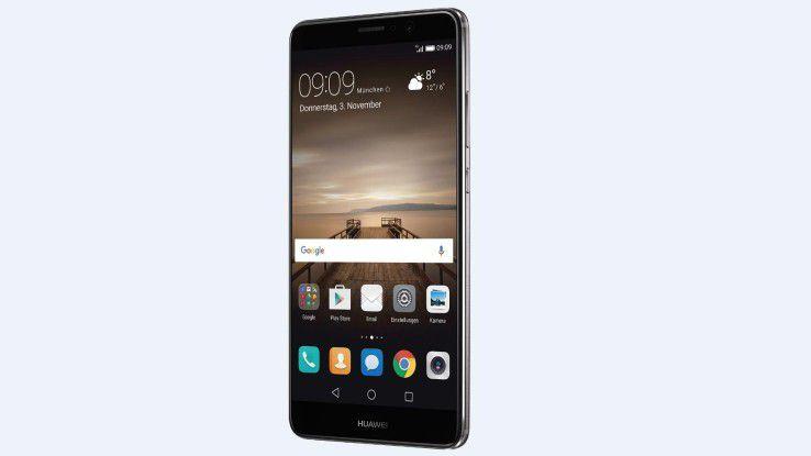 Das Huawei Mate 9 trumpft mit Features wie einem 4000-mAh-Akku, 4GB RAM und einer Dual-Kamera auf.
