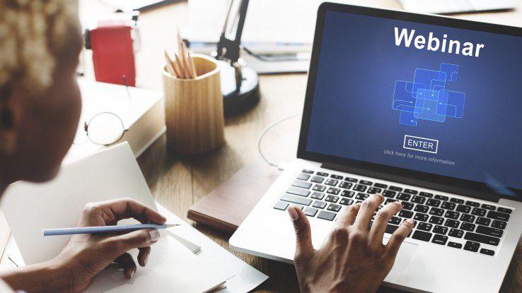 Webinare erfordern eine sorgfältige Vorbereitung, wenn sie erfolgreich sein sollen.