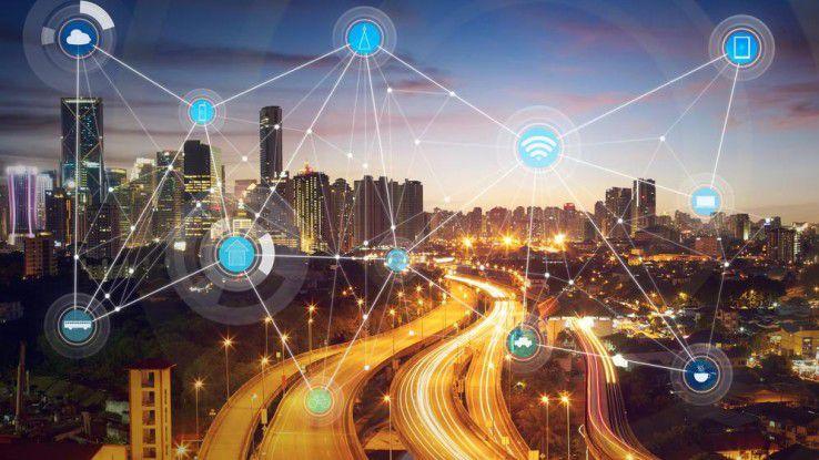 Lukratives Marktsegment: HPE und Nokia wollen über eine Kooperation IoT-Lösungen im Smart-Cities-Bereich anbieten.