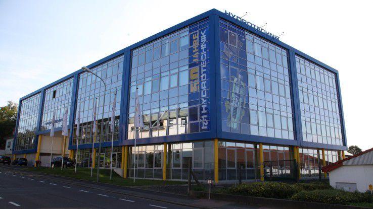 Die Hydrotechnik GmbH in Limburg produziert industrielle Messtechnik.