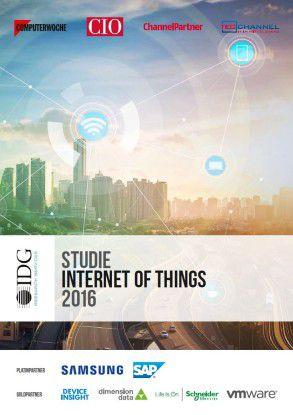 """Die aktuelle Studie """"Internet of Things"""" ist in unserem Shop erhältlich."""