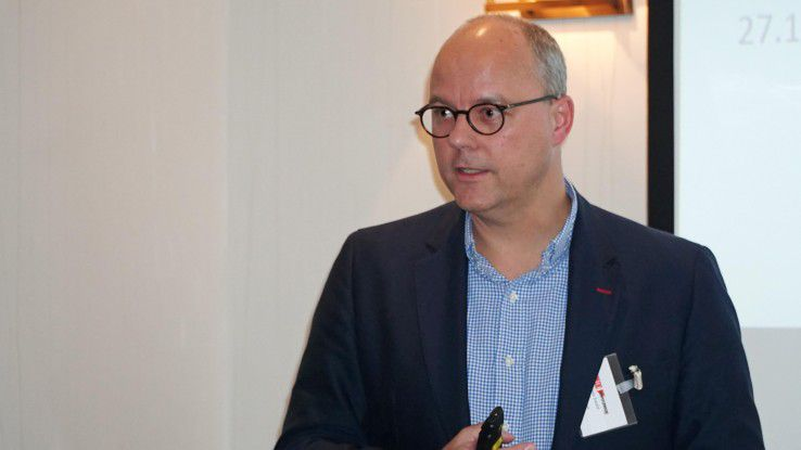 Kuka-CIO Holger Ewald empfiehlt Unternehmen, gemeinsam mit dem IoT-Partner ein ECO-System aufzubauen.