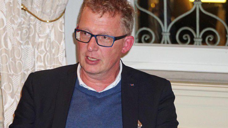 Webasto-CIO Thomas Mannmeusel warnt davor, IoT-Ideen zu Tode zu analysieren.l