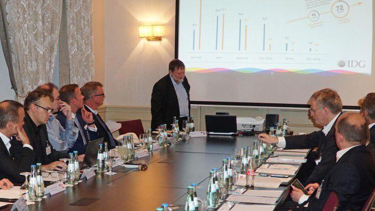 IT-Entschieder und Hersteller diskutierten auf der IoT-Soiree von COMPUTERWOCHE und CIO über das Internet der Dinge und die Situation in Deutschland.