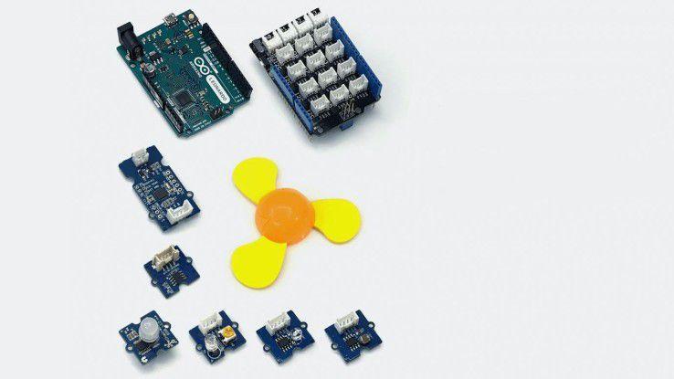 Die Hardware des IoT Starter Kits CloudProfessor.