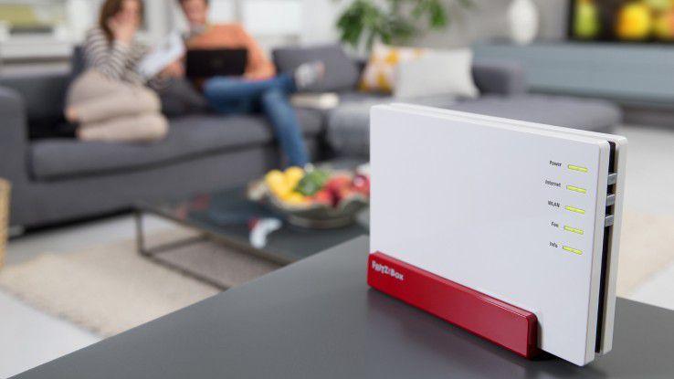 Das aktuelle Spitzenmodell von AVM ist die Fritzbox 7580.