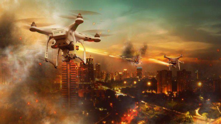 Zukunftsszenario Consumer-Drohnenkrieg?