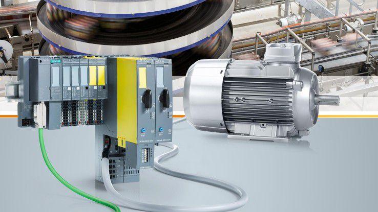 Per Smart Motor Kit können auch ältere Elektromotoren an MindSphere angekoppelt werden.