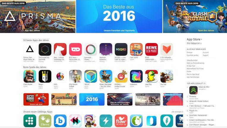 Alle Jahres wieder kürt die Redaktion des deutschen iTunes-App Store ihre App- und Game-Favoriten für iPhone und iPad.