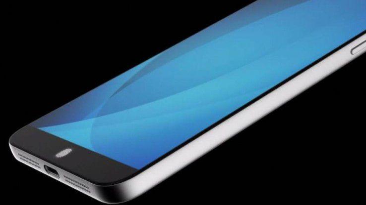 Der Fingerabdrucksensor von Synaptics soll auch durch das Display-Glas des Smartphones hindurch funktionieren.