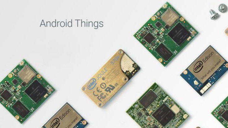 Über Android Things sollen verschiedene IoT-Geräte leichter miteinander kommunizieren können.