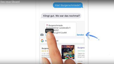 Gboard: Neue Features für die Android-Tastatur - Foto: Screenshot/Google