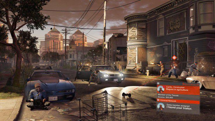 """Ballern ist in """"Watch Dogs 2"""" eher nicht angesagt: Der taktisch kluge Einsatz von Hacking ermöglicht oft eine """"Remote""""-Erfüllung von Missionszielen."""
