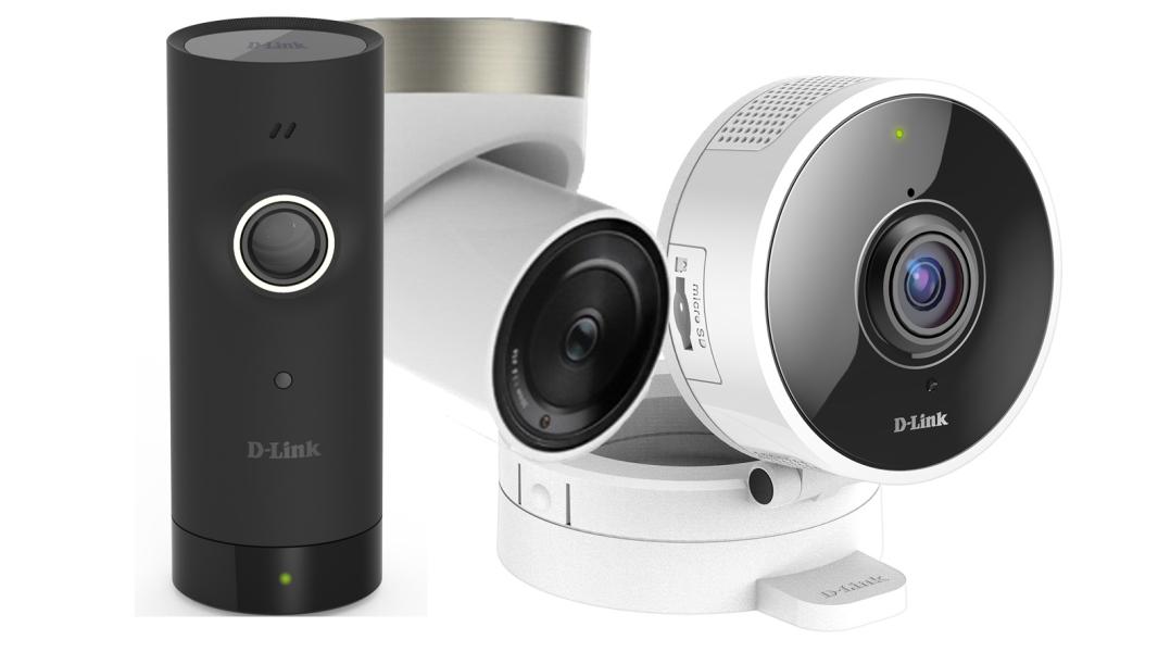 ces neuheiten 2017 d link smart home kameras. Black Bedroom Furniture Sets. Home Design Ideas