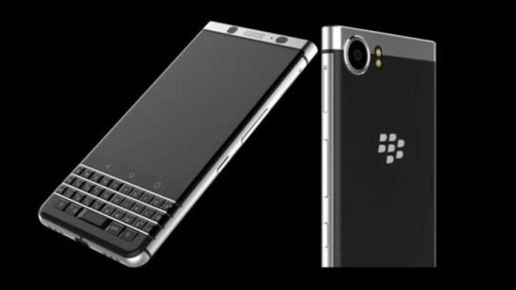 Der Blackberry DTEK 70 dürfte der letzte echte Blackberry werden. Künftig entwickelt TCL die Geräte in eigener Regie.
