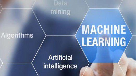 Anders als das Bild suggeriert ist Machine Learning ein Teilgebiet von Artificial Intelligence – allerdings ein sehr wichtiges.
