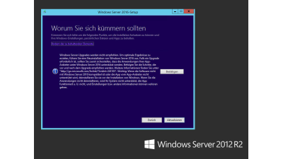 Virtualisierung unter Windows Server 2016