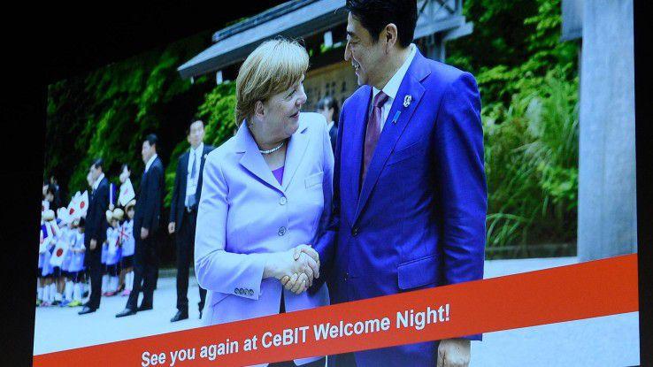 Japan ist Partnerland der CeBIT 2017.