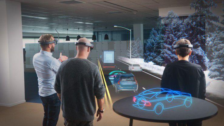 Augmented-Reality-Lösungen wie Microsoft HoloLens bieten große Chancen im Business.