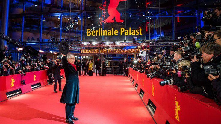Berlinale-Direktor Dieter Kosslick bei der Eröffnung des Filmfestivals (2016).