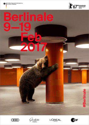 Aktuelles Berlinale Plakat aus dem Jahr 2017.