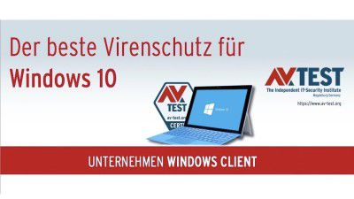Antivirus & Firewall: Die beste Antiviren-Software für Windows 10 fürs Büro - Foto: AV-Test
