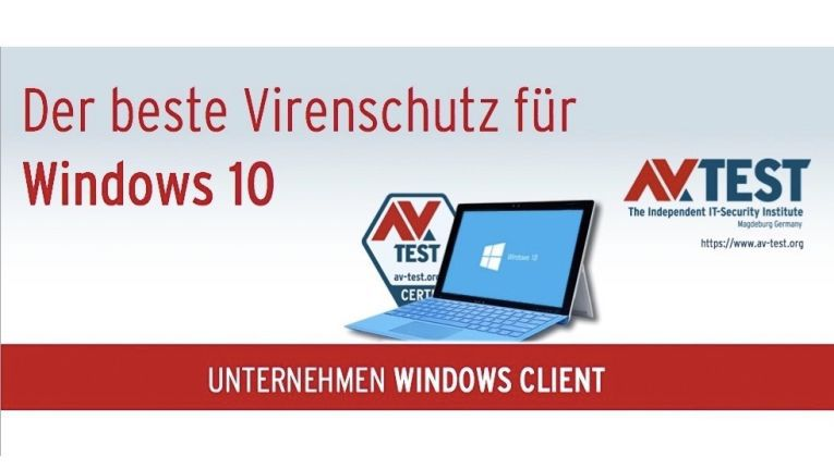 Antivirus-Software für Unternehmen unter Windows 10