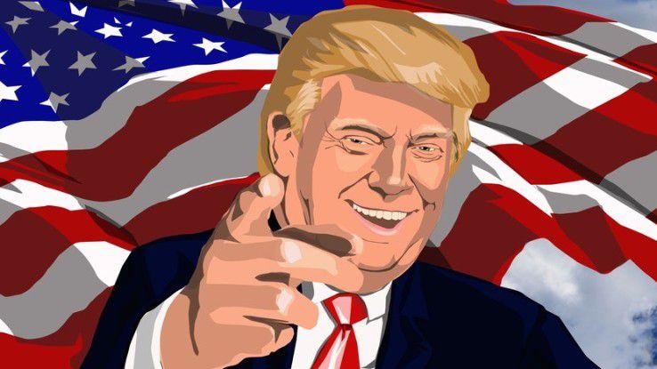 US-Präsident Donald Trump ließ kaum ein Fettnäpfchen aus, und schaffte es immer wieder, Industrie und Wirtschaft gegen sich aufzubringen.