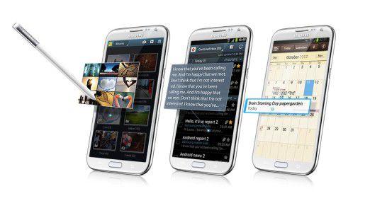 Nur anschauen, nicht anfassen: Samsung Air View