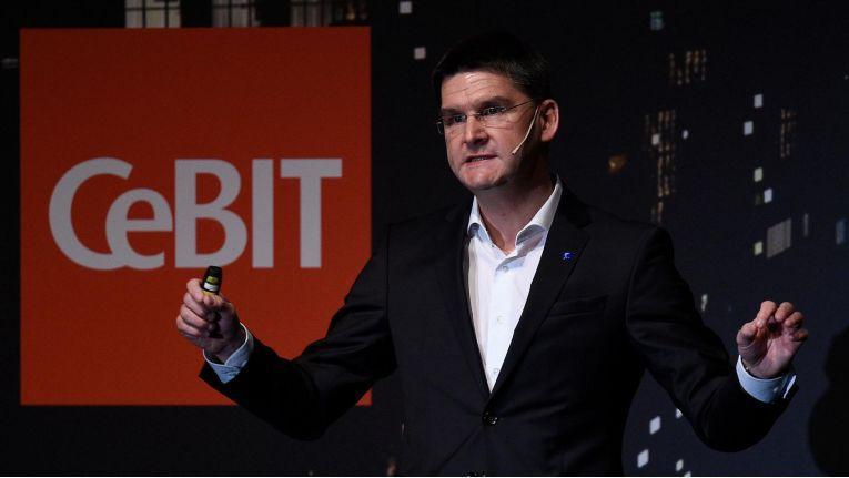 CeBIT-Chef Oliver Frese betonte, dass allein ein vernüftiges Antivirenprogramm keine ausreichende Datensicherheit für Unternehmen biete.