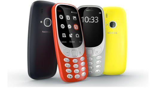 Der billige, nicht sehr smarte Plastikbomber Nokia 3310 war eines der Highlights des MWC