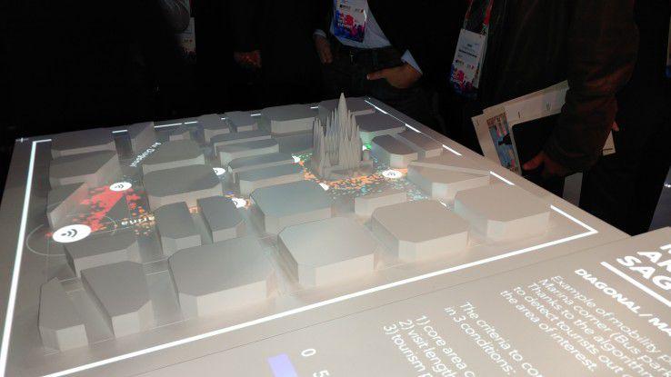 Mit IoT und Big Data lenkt Barcelona die Besucherströme rings um die Sagrada Familia.