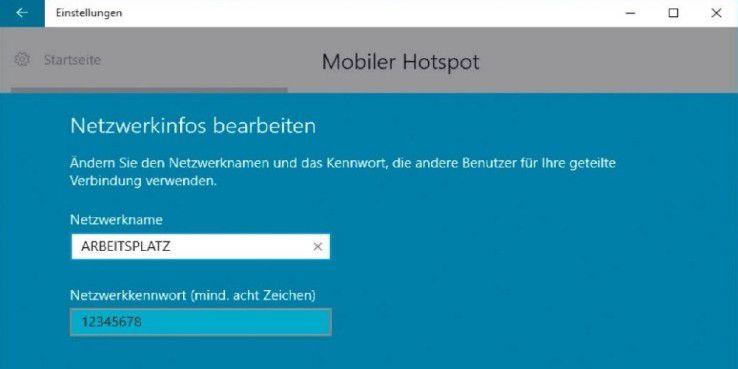Windows 10 ermöglicht die einfache Einrichtung eines WLAN-Hotspots, den andere Geräte nutzen können.